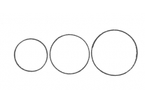 Circles set of 3 - 1846