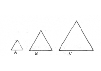 triangle set of 3 - 667
