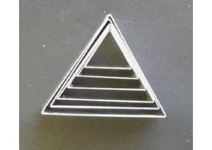 triangle set of 6 - 9304