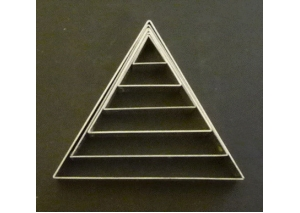 large triangle set of 6 - 9306
